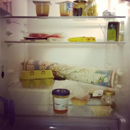 regalo nel frigo