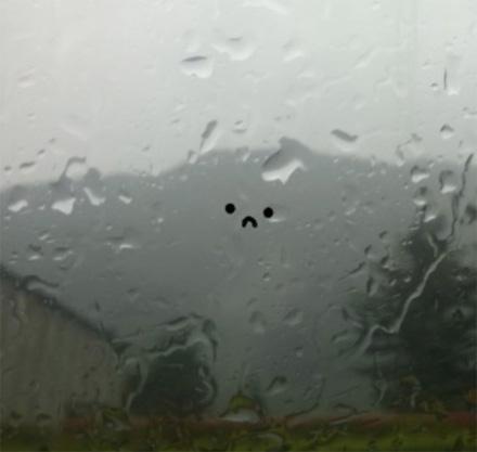 smile when it rains