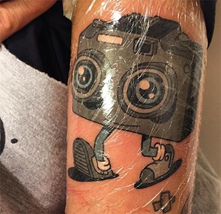 open eyes tattoo